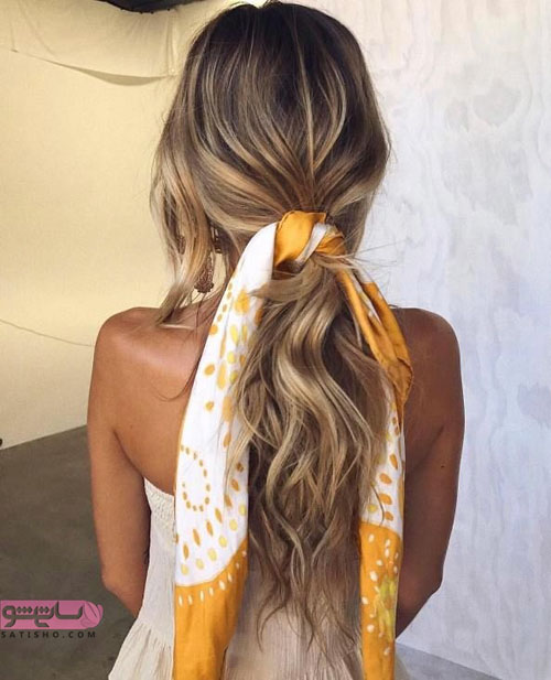 کانال آموزش بستن شال و روسری