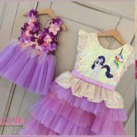 مدلهای لباس دخترانه بچگانه ۲۰۱۹ در رنگ های زیبا