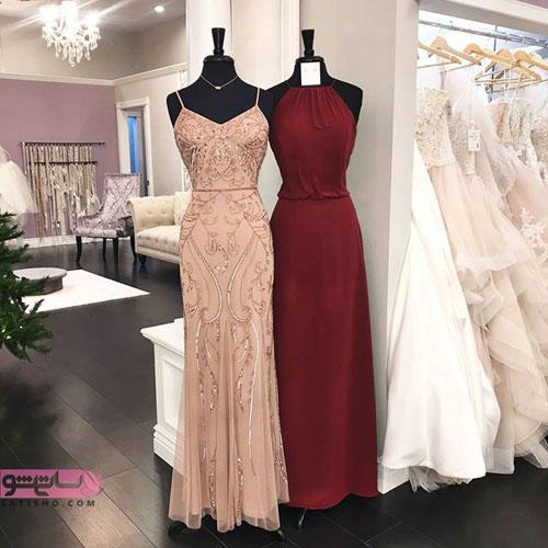 مدل لباس شب جدید 2019 بالاتنه شیک