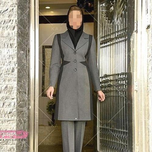 مدل مانتو شلوار رسمی خانمهای شیک پوش
