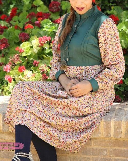 مدل مانتو شیک سنتی با طرح های زیبا