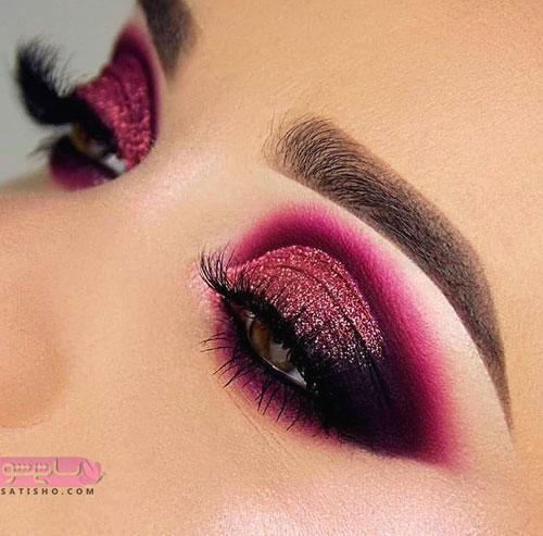 مدل معروف آرایش چشم زنانه
