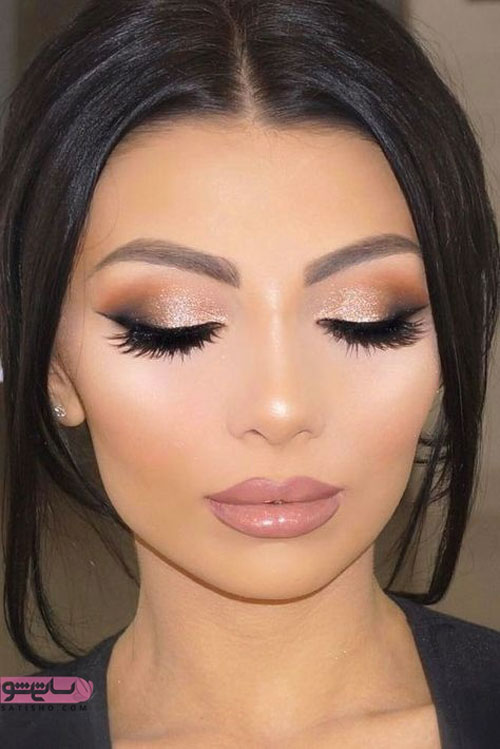 مدل آرایش چشم خلیجی 2019