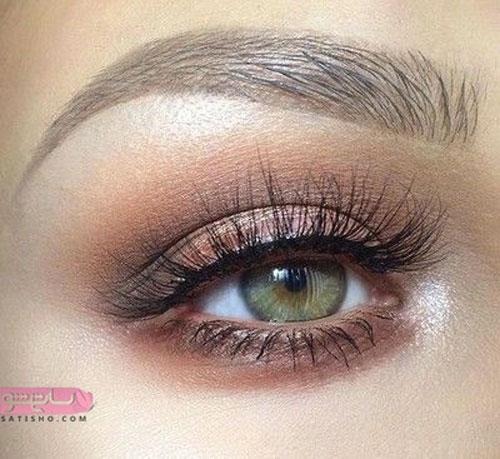 مدل آرایش چشم لایت برای عقد