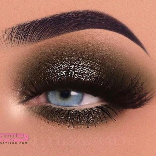 آموزش تصویری آرایش چشم جدید امسال