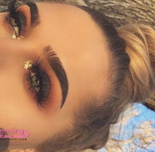 خاص ترین مدل آرایش چشم عروس 2019 - 98
