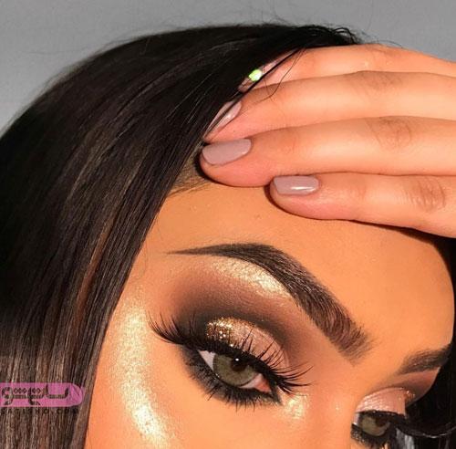 خط چشم مناسب چشم رنگی ها