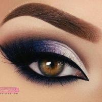 زیباترین مدل های آرایش چشم عروس ایرانی مد سال ۹۸
