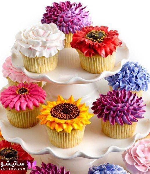 مدل های تزیین کاپ کیک