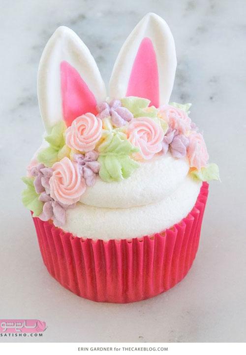 ایده جدید تزیین کیک فنجانی شیک