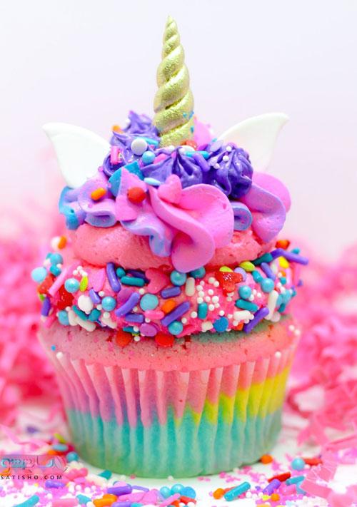 تزیینات کیک فنجانی با ایده های خلاقانه