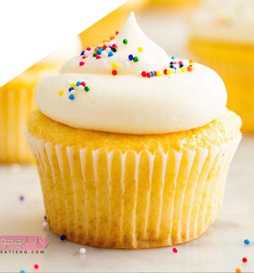 تزیین کاپ کیک و کیک یزدی