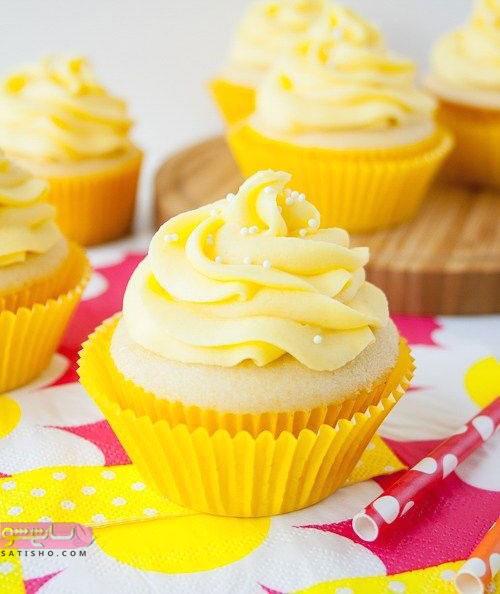 تزیین شیک کاپ کیک برای دوهمی ها