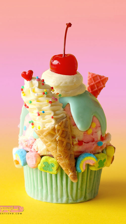 تزیین کاپ کیک فانتزی برای جشن تولد
