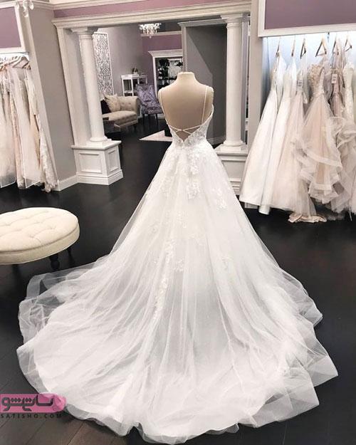 چند نمونه لباس عروس شیک و زیبا 98