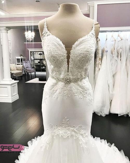 شیک ترین لباس عروس های مدل ماهی