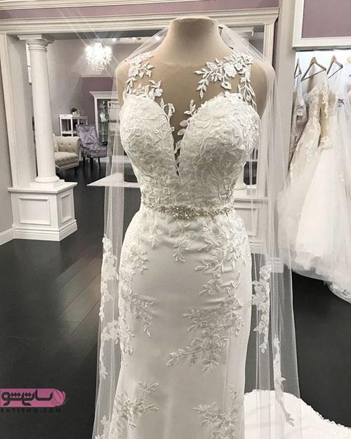 جدیدترین مدل لباس عروس مدل ماهی 2019