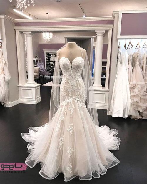 عکس لباس عروس ژورنالی