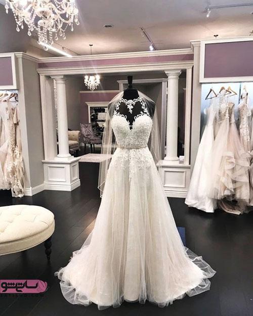 مدل لباس عروس و لباس شب پرنسسی