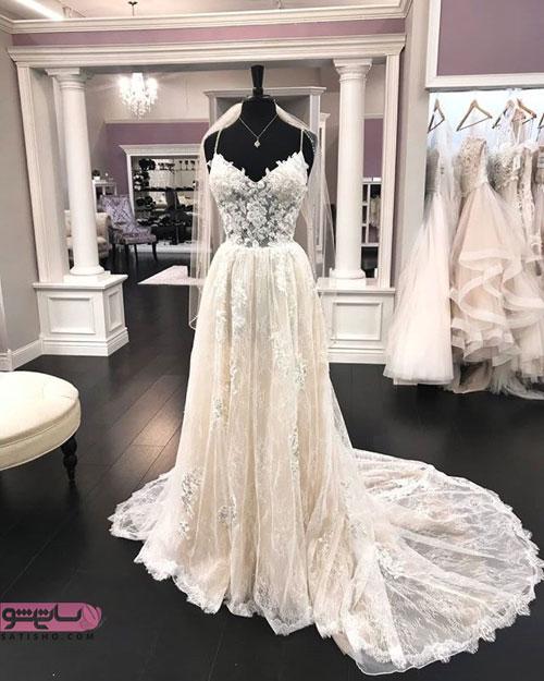 زیباترین لباس عروس پرنسسی