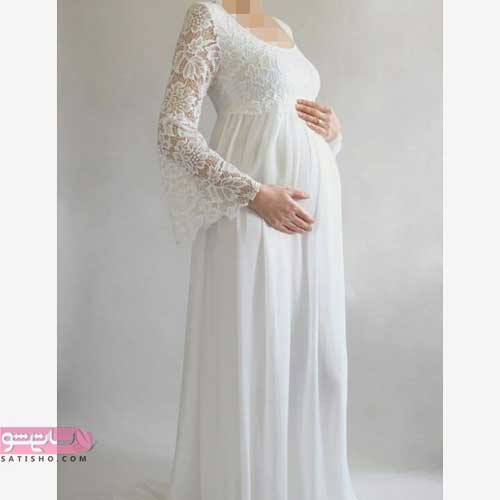 نکات مهم خرید لباس بارداری و حاملگی + لباس مجلسی گیپور