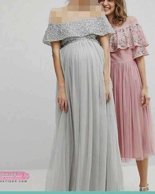 پرفروش ترین مدل لباس مجلسی بارداری
