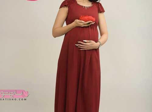 لباس خوشگل بارداری مجلسی 2019