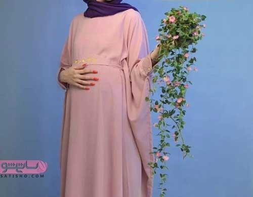 لباس مجلسی بارداری بلند 98