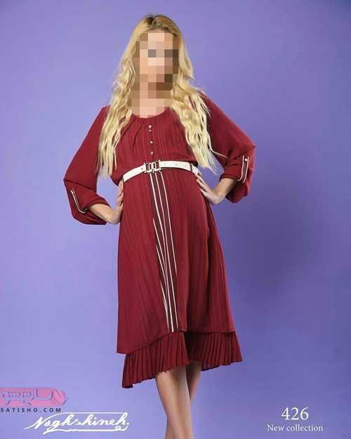لباس بارداری پوشیده بلند