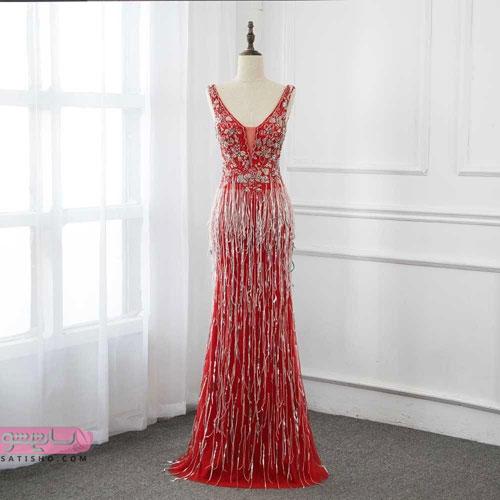 مدل لباس بلند زیبا طرح امسال