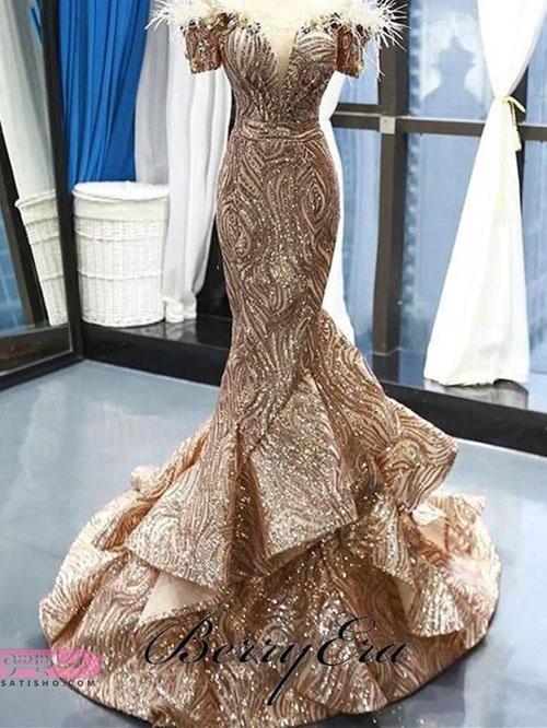 جذاب ترین لباس مجلسی مدل ماهی