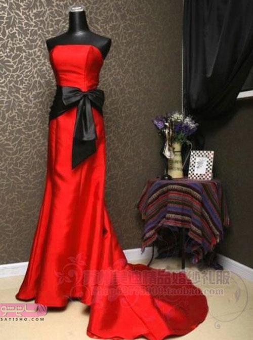 تصاویری از مدل لباس شیک عقد و عروسی