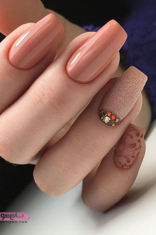 دیزاین ناخن دخترونه برای عروسی