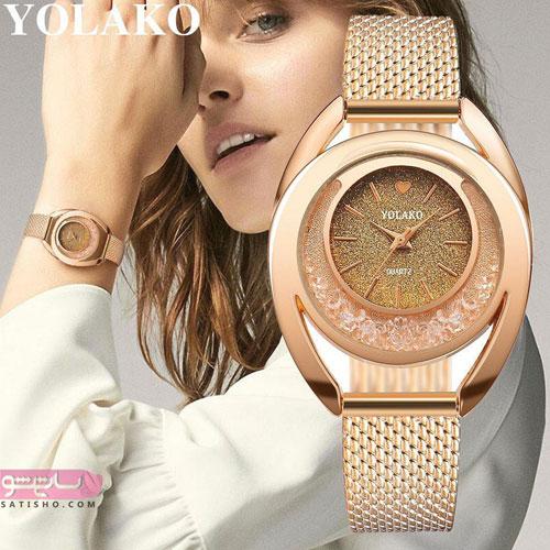 ساعت های جدید زنانه 98ر
