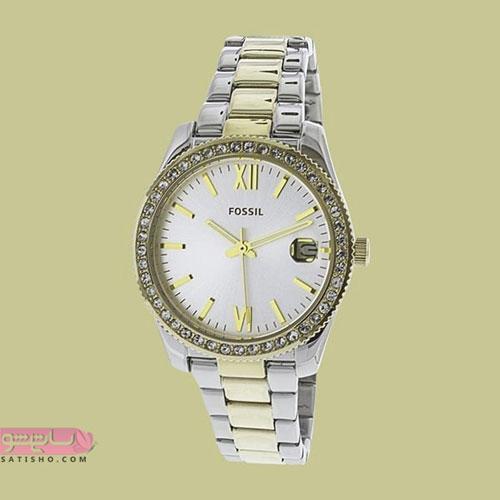 عکس ساعت زنانه بند فلزی