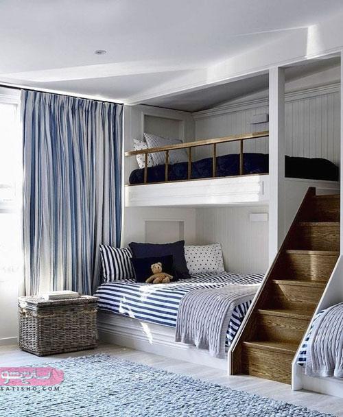 تخت خواب های دونفره بسیار شیک چوبی