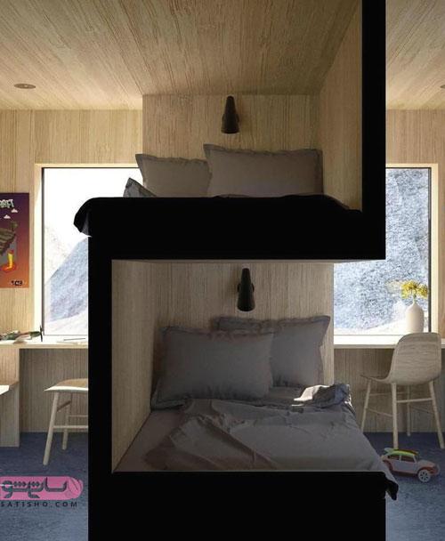 تخت خواب دو نفره خلاقانه