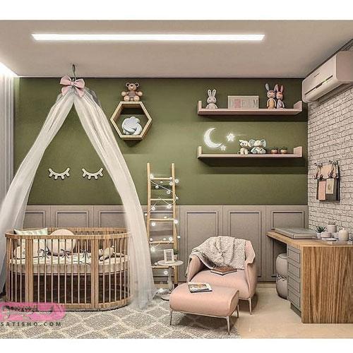 بهترین چیدمان های اتاق خواب برای دختران