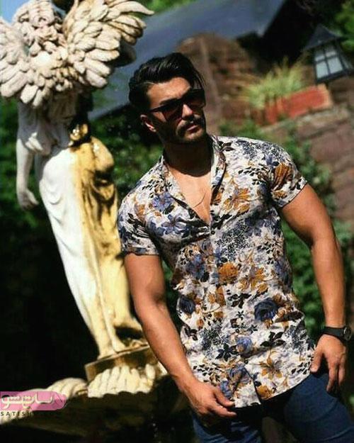 مدل پیراهن مردانه استین کوتاه جدید