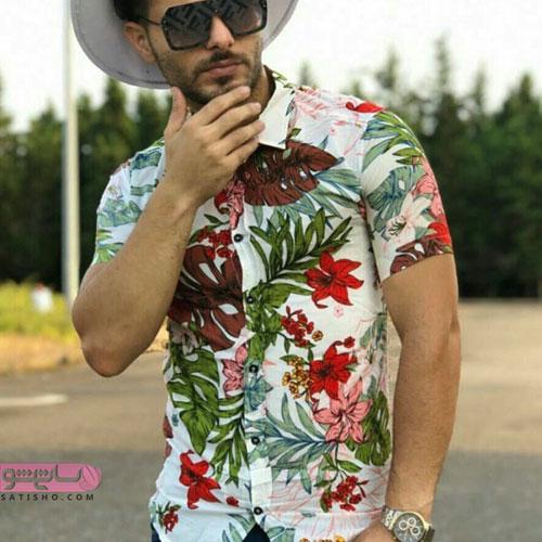نمونه لباس های مردانه هاوایی 98