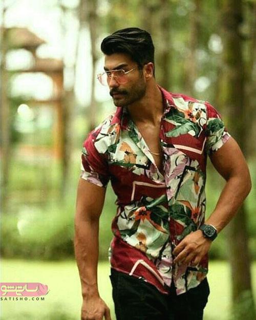 پیراهن استین کوتاه مردانه هاوایی