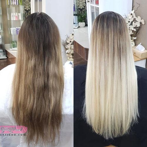 مدل رنگ مو مناسب عروس