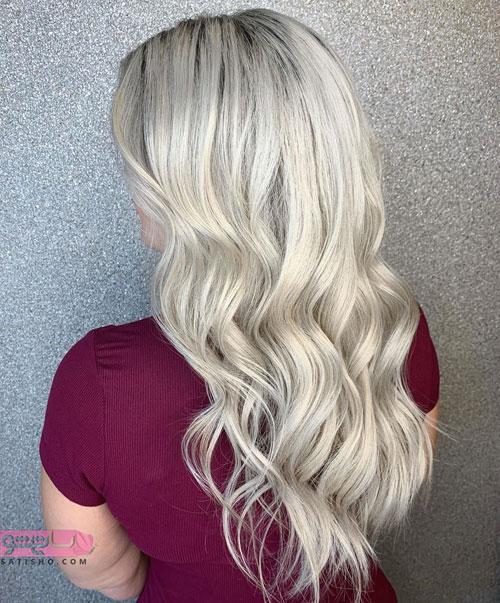 رنگ مو باکلاس مناسب شینیون 2019