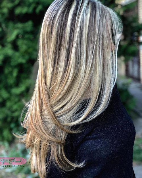 خوش رنگ ترین رنگ مو