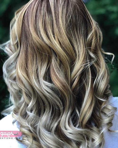 مدل رنگ موی هایلایت خاص 2019