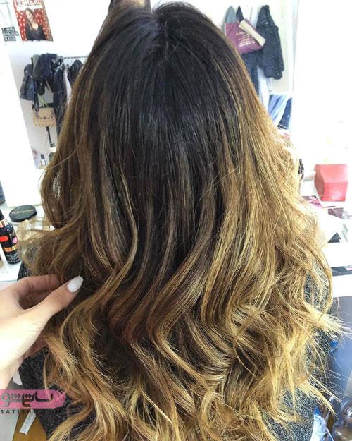 رنگ موهای خاص 98