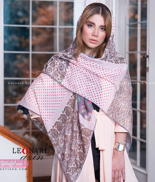 باکلاس ترین مدل های شال و روسری جدید مجلسی 98 | ساتیشو