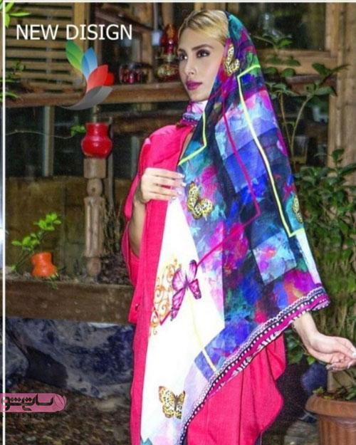 عکس روسری 98 با طرحی بسیار زیبا