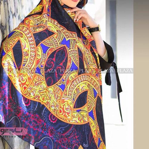 روسری با طرح های ایرانی زیبا 98
