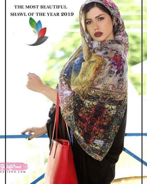 شال رنگی مدل سنتی زنانه و دخترانه جدید